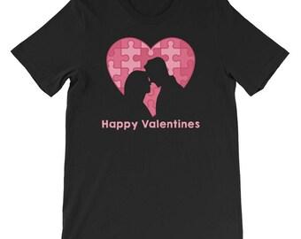 Valentines Day TShirt Women Men Love Couples Matching Idea