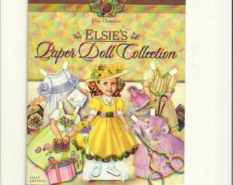 Elsie Dinsmore Life of Faith Vintage Paper Doll Book