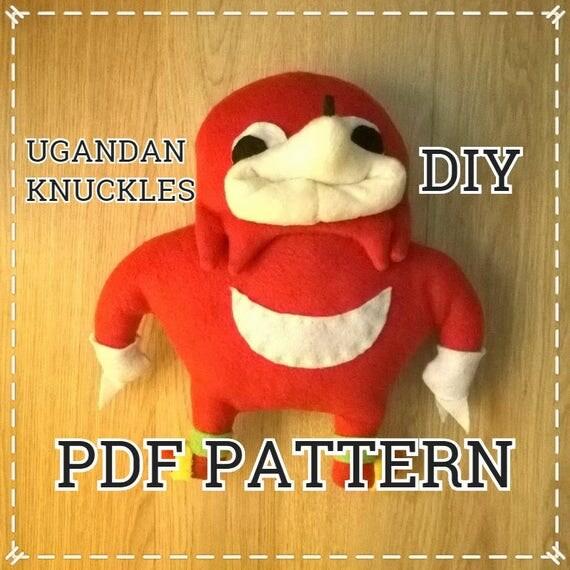il_570xN.1467009085_4cbm pdf diy sewing pattern for ugandan knuckles handmade plush toy
