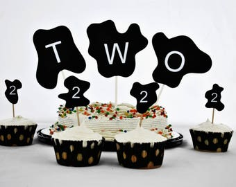 Cow Cake Toppers