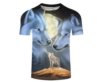 Wolf Shirt, Wolf Shirts, Wolf Tee Shirt, Wolf Tshirt, Wolves Shirt, Wolf T-shirt, Wolf, Wolves, Wolves Tshirt, Shirt, Wolf Tee - Style 6