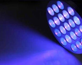 UV Blacklight Torch - Ultraviolet UV Black Light Small Torch for Charging Glow in the Dark Paint and Stars - Great for Glodio StarOrbs