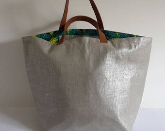 Great shopping bag XXL canvas and Wax