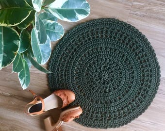 Crochet Floor Mat