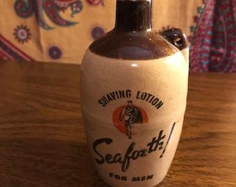 Vintage Seaforth Shaving Lotion Bottle