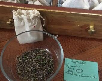 Organic Herbal Bath blends