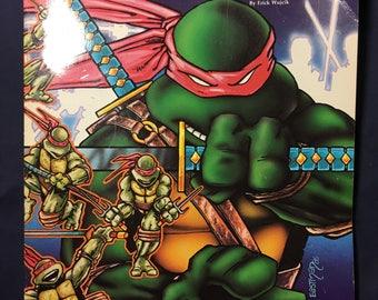 Teenage Mutant Ninja Turtles RPG Game Book from 1990