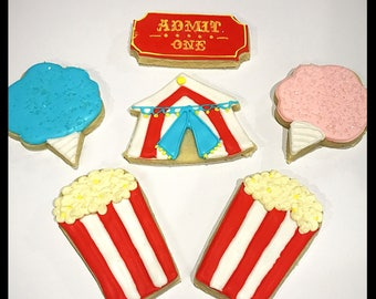 Circus Cookies - qty 12