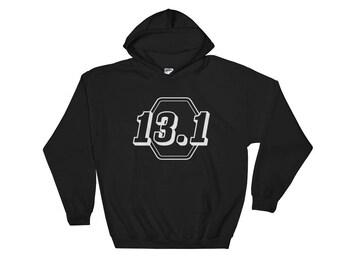 Half-Marathon Running 13.1 Hooded Sweatshirt