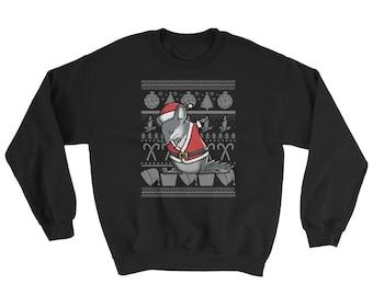 Funny Dabbing Chinchilla Ugly Christmas Sweater Cute Pet Gift