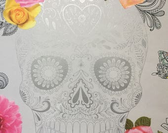 Candy Skull  Day of Day Print