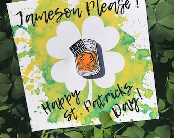 Jameson Please Enamel Whiskey Pin
