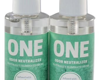 SMOKE and ODOR NEUTRALIZER spray , odor eliminator, Room & Car odor remover 2pk 3oz