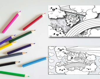 COLORING PAGES for Kids, PRINTABLE Coloring Pages, Instant Download, Printable Coloring Pages, Affordable, Children's, Pdf, Jpg