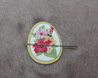 Magnet needle flowers