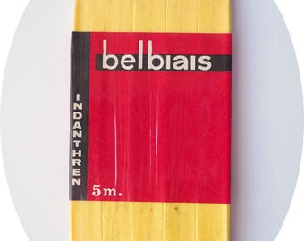 bias cotton Belbiais 5 m - yellow gold