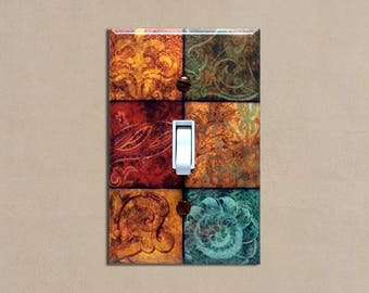 Merveilleux Tuscan Patchwork   Light Switch Plate Covers Home Decor Outlet