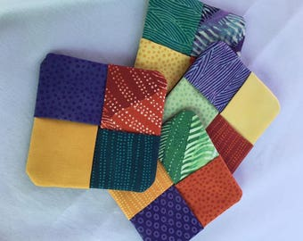 Beautiful Fabric Coasters (Set of 4)