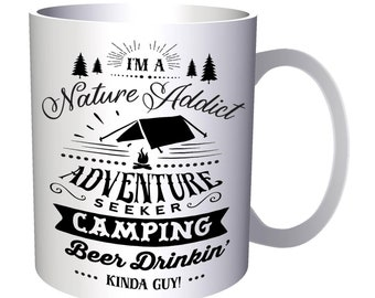 Camping Kinda Guy 11oz Mug j473