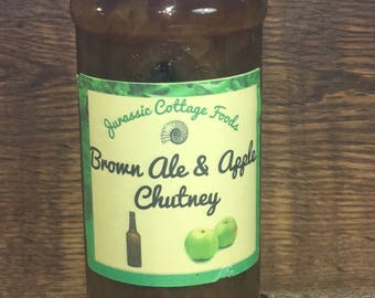 brown ale and apple chutney 284ml
