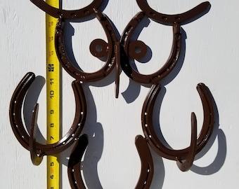 Owl Horseshoe Rack