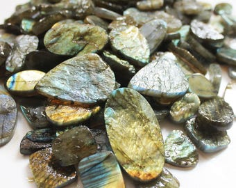 LABRADORITE Druzy 100 carats Stone, Labradorite 100 carats CABOCHON, Labradorite Rough Druse, Labradorite Slab, Good Qulity Labradorite lot.