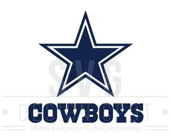 Dallas Cowboys Dxf Etsy