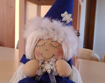 Handmade fabric Christmas Doll-Christmas handmade Doll