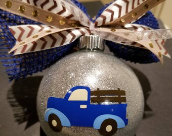 Christmas Ornament - Pickup Truck - A little pick up for you.