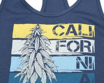 Women's California Outdoor Grow Tank Top