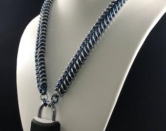 Box Chain Collar
