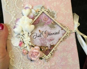 Wedding handmade photo album