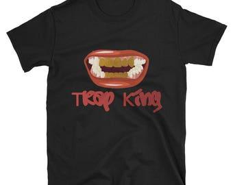 Trap King Short-Sleeve Men's 100% cotton T-Shirt