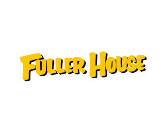fuller house SVG, fuller house vector, PNG, Cut Files, Svg Files, Cricut Files, vector Files, fuller house silhouette