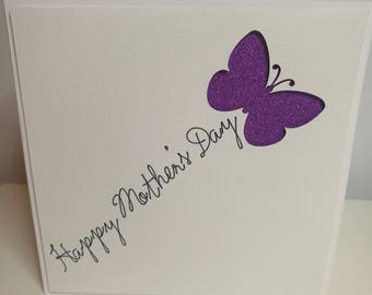 Butterfly Happy Mother's Day Card