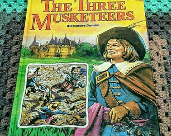 The Three Musketeers Large Hardback Book
