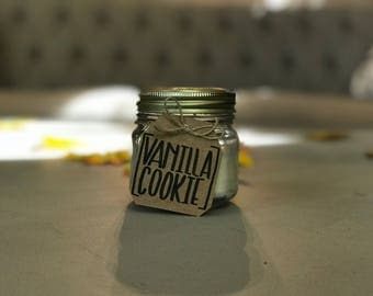 Candle // Warm vanilla cookie // fragrant candles // essential oil // soy wax