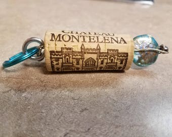Wine Cork Key Chain #2