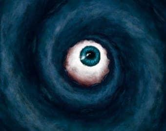 Peinture numérique de la série «Deep Fear»