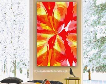 Giclée Fine Art Print-Abstract print-Artwork-Colorful print-Wallart by Yamy Morrell