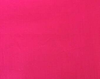Pink cotton polyester fabric