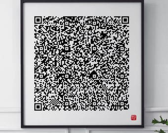 GenoArt QR Code - Wired