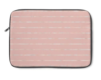 Marbled Stripes Laptop Sleeve