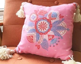 Flower Bouquet Pillow