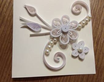 Greeting Card or quilling Attendance