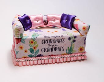 Grandma Tissue Box Cover