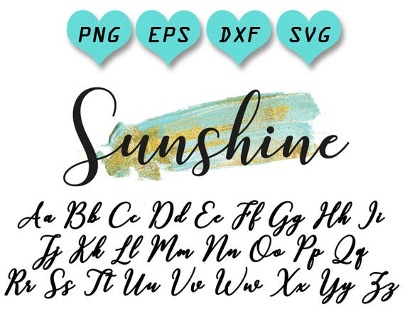 Download calligraphy svg, calligraphy cut files, calligraphy font ...