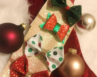 Holiday Bow Set of 4