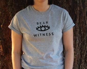 Bear Witness Tee