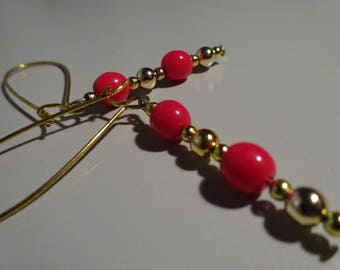 Red and Gold Kidney Wires